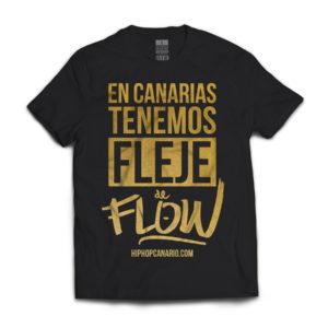 FDF-002 ULE Fleje de Flow x hiphopcanario.com (Limited Edition) (Unisex) (Black) (Front)