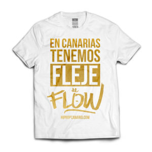 FDF-001 ULE Fleje de Flow x hiphopcanario.com (Limited Edition) (Unisex) (Black) (Front)