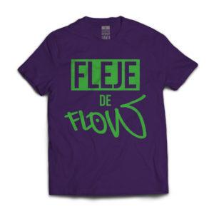FDF-015 U Classic Logo (Unisex) (Purple) (Front)